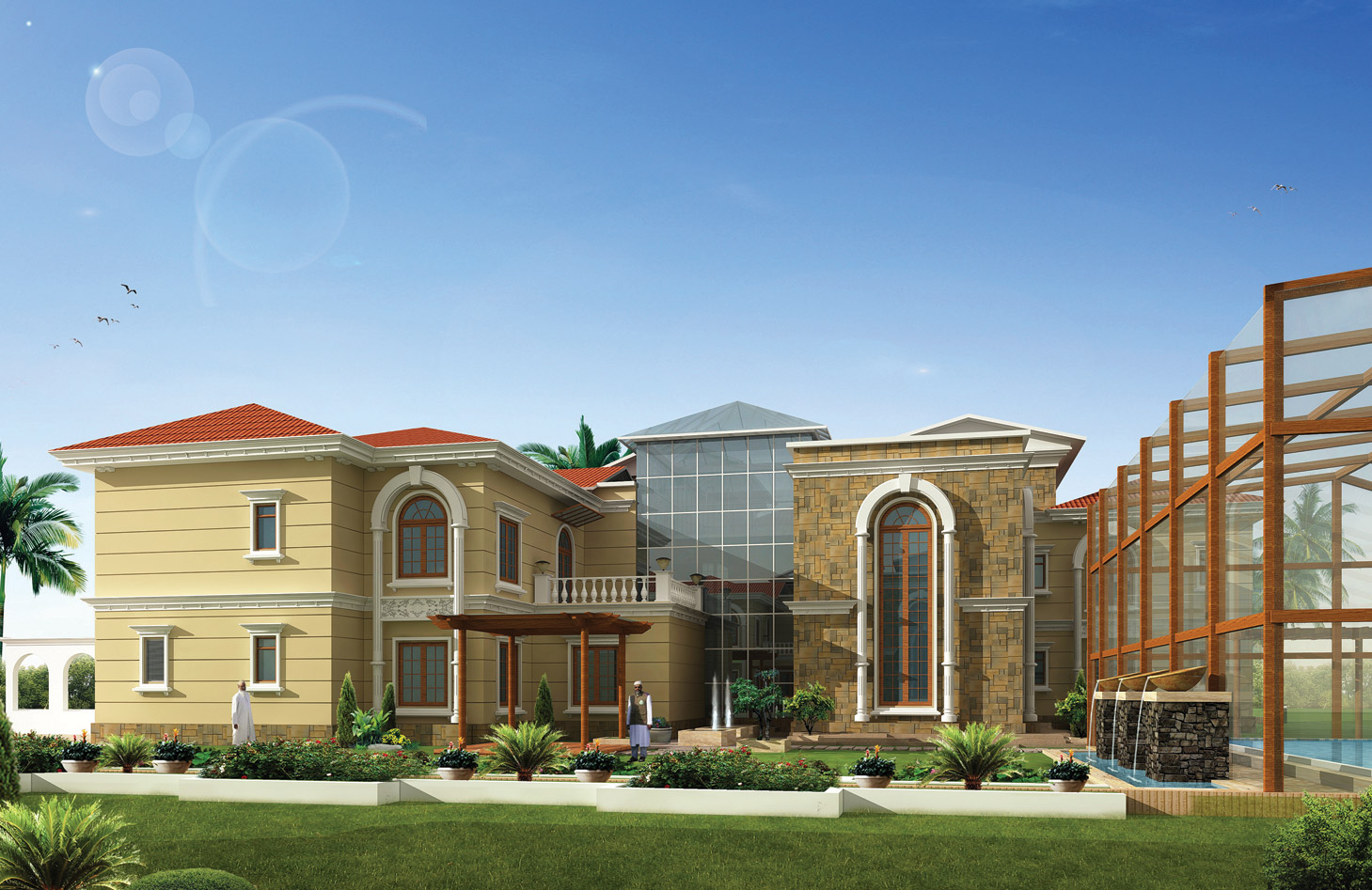 A I Design Concept To Creation Modern Residential